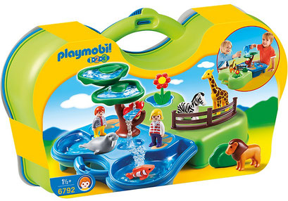 Playmobil 123, le zoo transportable