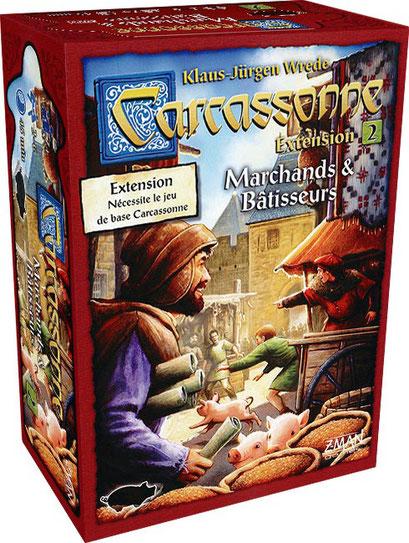 Carcassonne : Marchands & Bâtisseurs (Extension)