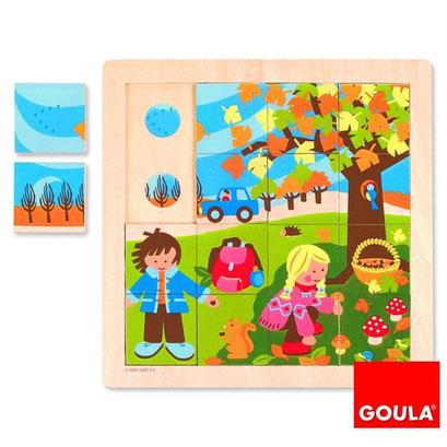 Encastrement Goula : l'automne