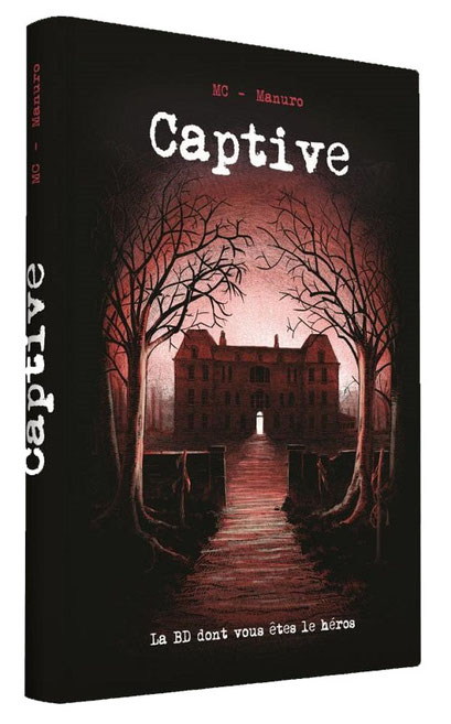 BD dont vous êtes le héros : Captive