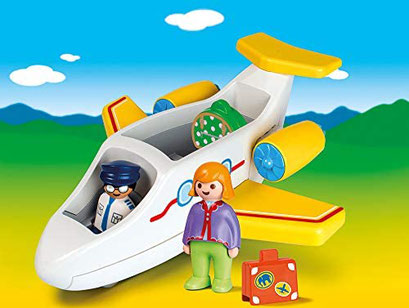 Playmobil 123 - Avion avec touriste
