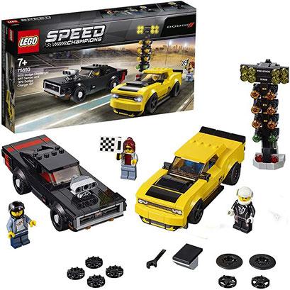 Lego Speed Champions - Voitures Dodge