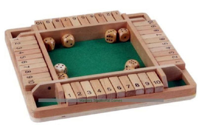 Shut the box (4 joueurs)