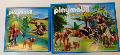 Playmobil, vie sauvage