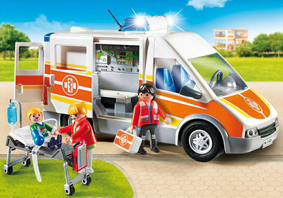 Playmobil : l'ambulance