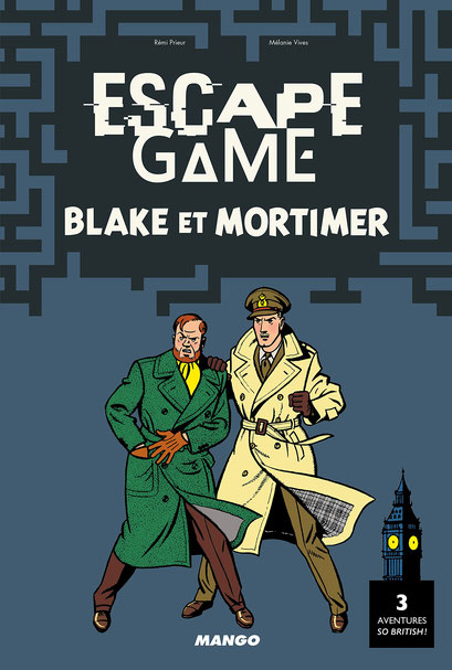 Escape Game - Blake & Mortimer