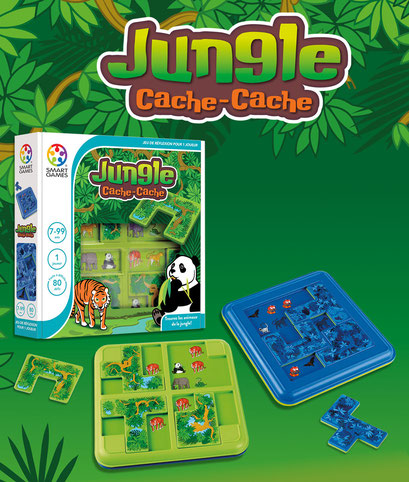 Smart Games - Cache Cache Jungle