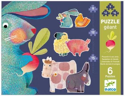"""Puzzle """"Pissenlit & ses amis"""""""