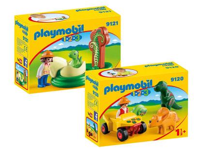 Playmobil 123 : les dinosaures