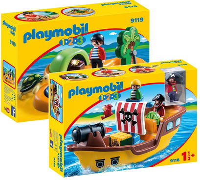 Playmobil 123 : les pirates