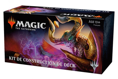 Magic - kit de construction de deck 2019