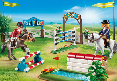 Playmobil - Parcours d'obstacle