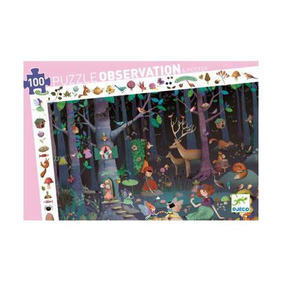 Puzzle observation - La forêt enchantée