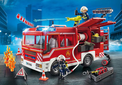 Playmobil : Fourgon d'intervention des pompiers