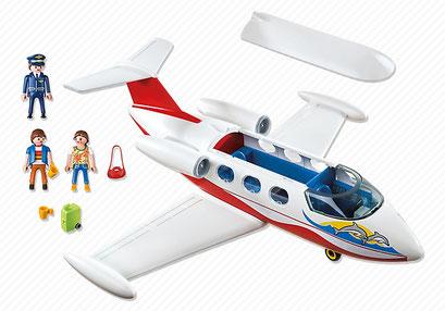 Playmobil, le jet privé