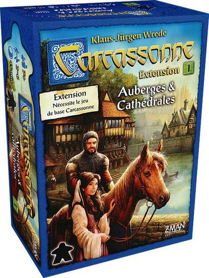 Carcassonne : Auberges & Cathédrales (Extension)