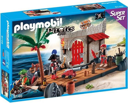 Playmobil, les pirates