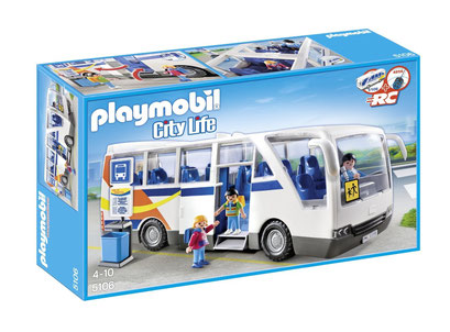 Playmobil : le bus scolaire