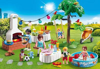 Playmobil - Famille et barbecue estival