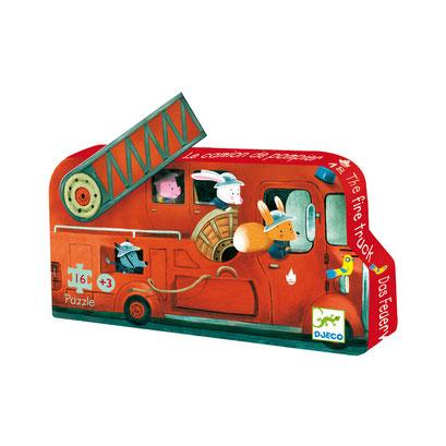 Puzzle - Le camion de pompiers
