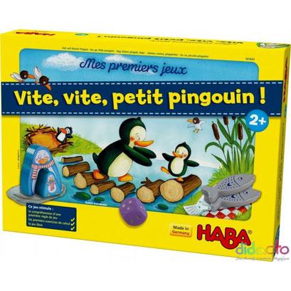 Vite, vite, petit pingouin ! (Mes premiers jeux)