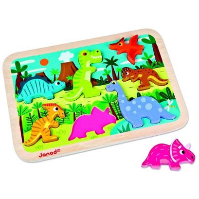 Encastrement Janod : Dinosaures