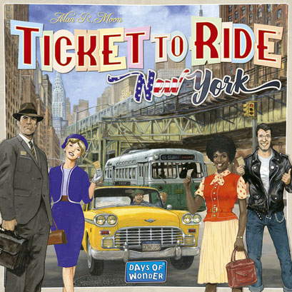 Les aventuriers du rail - New York