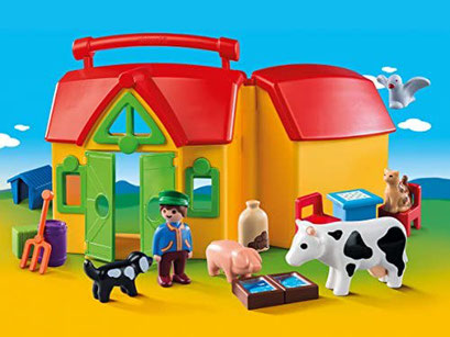 Playmobil 123 - Ferme transportable