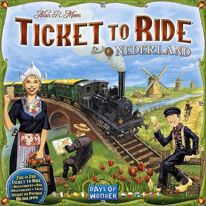 Les aventuriers du rail : Pays-Bas (ext)