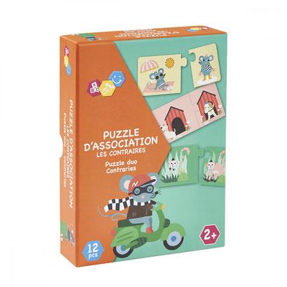 Puzzle association - les contraires