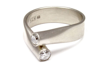 Ring from 18ct White Gold - Antwerp Collection