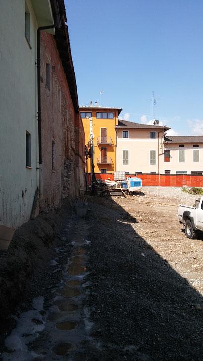 Realizzazione berlinese propedeutico a successivi scavi in sicurezza - Piemonte - CN