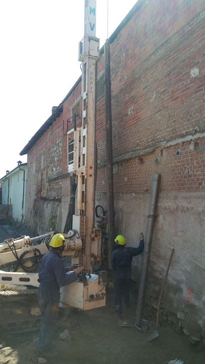 Realizzazione berlinese propedeutico a successivi scavi in sicurezza - Piemonte - Provincia di Cuneo