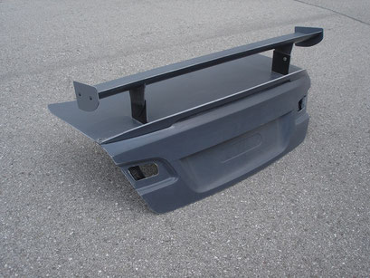 Trunk Lid incl. Spoiler Lip and GT4 Rear Wing