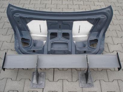 Heckdeckel inkl. Heckflügel DTM-Style