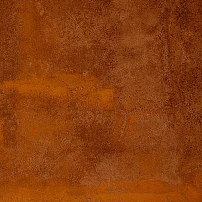 Cortenstahl mit lebendiger Oberfläche durch die Rostschicht