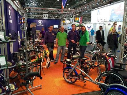 Dreirad-Zentrum Köln auf der Messe Rehacare