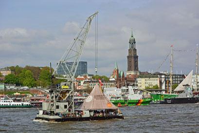 KARL FRIEDRICH STEEN zum 828.Hamburger Hafengeburtstag
