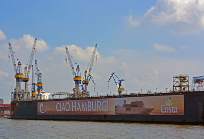 An den Docks im Juli 2014....