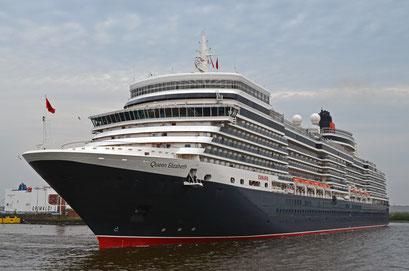 Queen Elizabeth am HCC Hafencity am 29.04.2012