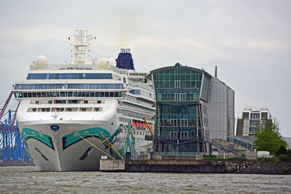 NORWEGIAN JADE am HCC Altona am 13.06.2017