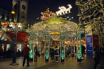 Hamburger Rathaus-Weihnachtsmarkt