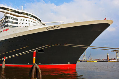 Queen Mary 2 am HCC Hafencity am 10.06.2013