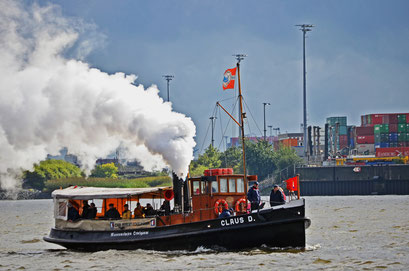 CLAUS D. (Dampfschlepper) zur Parade Hamburger Traditionsschiffe 2012