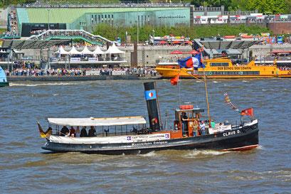 CLAUS D. zum 827.Hamburger Hafengeburtstag