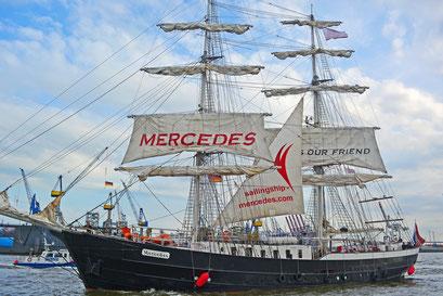 MERCEDES zum 829.Hamburger Hafengeburtstag