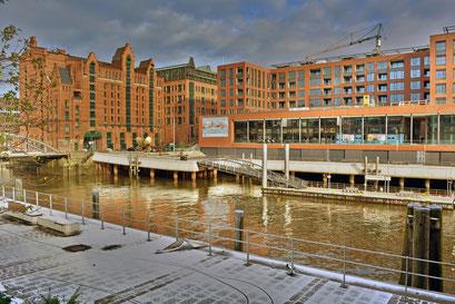 GREENPEACE-Gebäude am Magdeburger Hafen