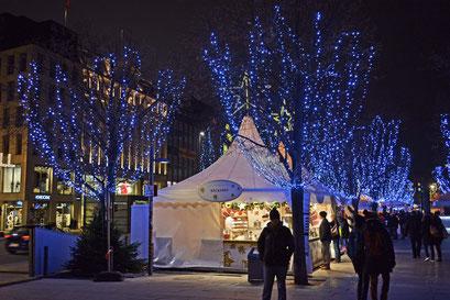 Hamburg in der Vorweihnachtszeit im Dezember 2014