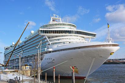 MS VENTURA am HCC Hafencity am 24.03.2013