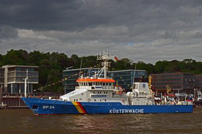 KÜSTENWACHE BP 24 BAD BRAMSTEDT zum Hamburger Hafengeburtstag 2012